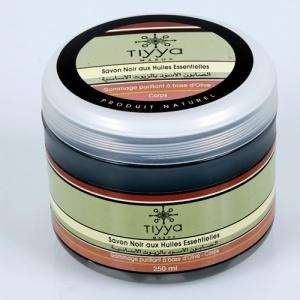 Savon noir Tiyya aux huiles essentielles